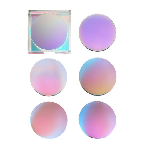 Kim Seybert Set Of 6 Luna Coaster Iridescent