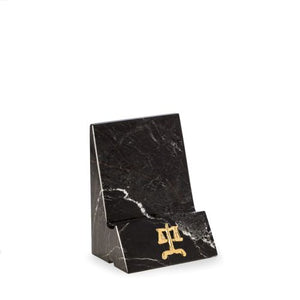 Marble Phone/Tablet Cradle with Legal Insignia