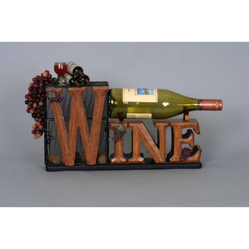 Karen Didion Cork Collector/Wine Bottle Holder