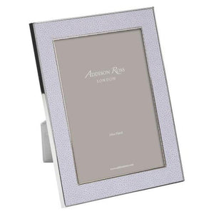 Addison Ross 5x7 Faux Shagreen Lilac