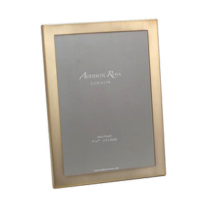 Addison Ross Matte Gold Frame with Squared Corners