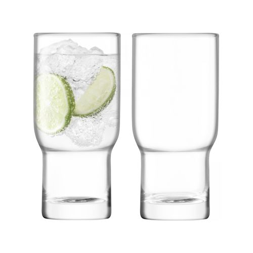 LSA International Utility Highball 390Ml Set Of 2