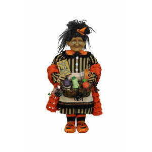 Karen Didion Originals Kitchen Witch Figurine, 20 Inches