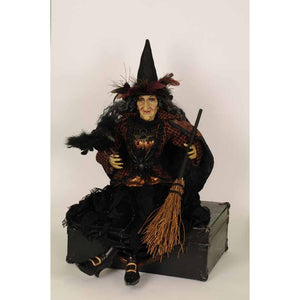 "Karen Didion Originals ""Medea"" Witch Figurine, 26 Inches"
