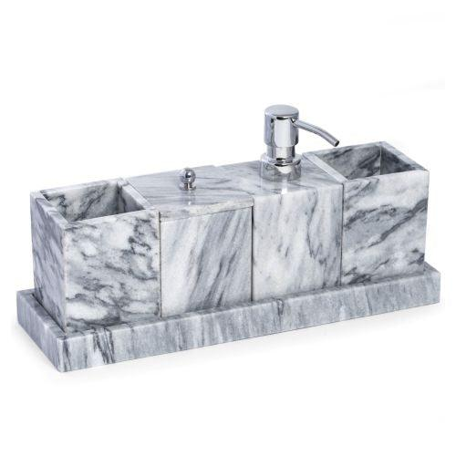 Bey Berk Cloud Gray 5-Piece Vanity Set