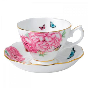 Waterford Royal Albert Friendship Teacup and Saucer Set