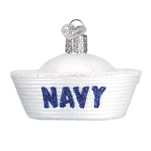 Old World Christmas Navy Cap Ornament