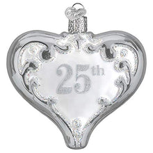 Load image into Gallery viewer, Old World Christmas 25Th Anniversary Heart Ornament