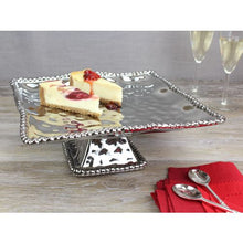 Load image into Gallery viewer, Pampa Bay Verona Porcelain Square Cake Stand