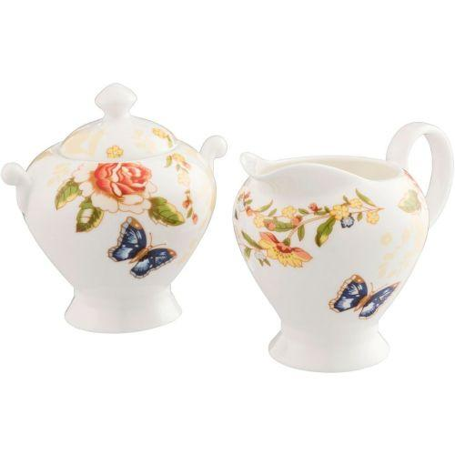 Ansley Cottage Garden Cream & Sugar