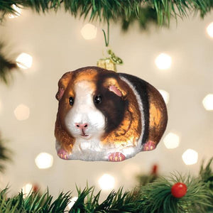 Old World Christmas Guinea Pig Ornament