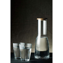 Load image into Gallery viewer, Kosta Boda Bruk Carafe 3 Piece Set Clear