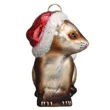 Load image into Gallery viewer, Old World Christmas Christmas Ferret Ornament
