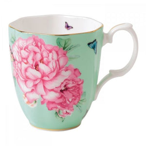 Royal Albert Friendship Vintage Mug , 13.5-Ounce, Green