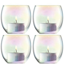 Load image into Gallery viewer, LSA International Pearl Votive Holder H2.5In/2.75In Set Of 4