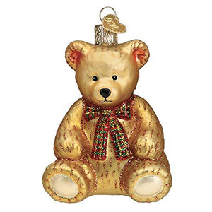 Old World Christmas Teddy Bear Ornament