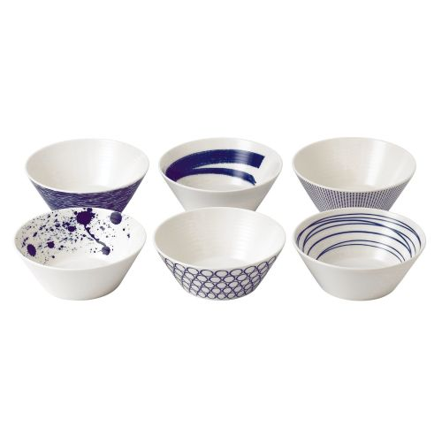 Royal Doulton Pacific  Assorted Bowls S/6