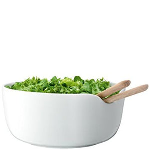 LSA International Dine Bowl & Oak Servers 9.5In/H4.25In