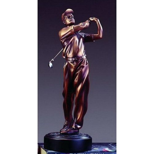 Treasure of Nature Bronze Finish Golfer Award or Trophy
