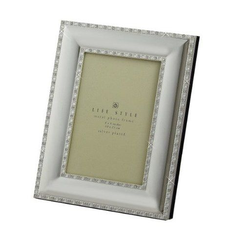 Leeber Silver Plated With Crystal Photo Album, 4