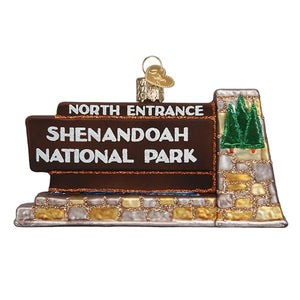 Old World Christmas Shenandoah National Park Ornament