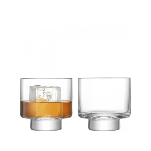 LSA International Metropole Set of 2 DOF Tumbler 60.9 fl oz Clear