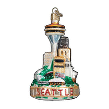 Load image into Gallery viewer, Old World Christmas Seattle Skyline Ornament