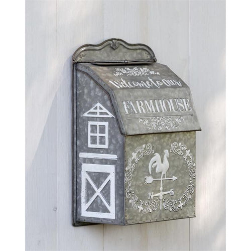 Your Heart's Delight Mailbox - Welcome to our Farmhouse