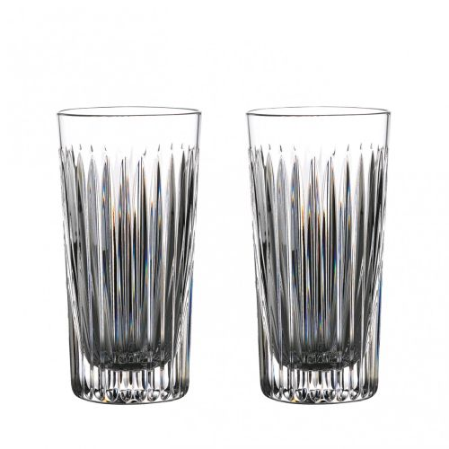 Waterford Crystal Gin Journeys Aras Hiball 16 Oz Set of 2
