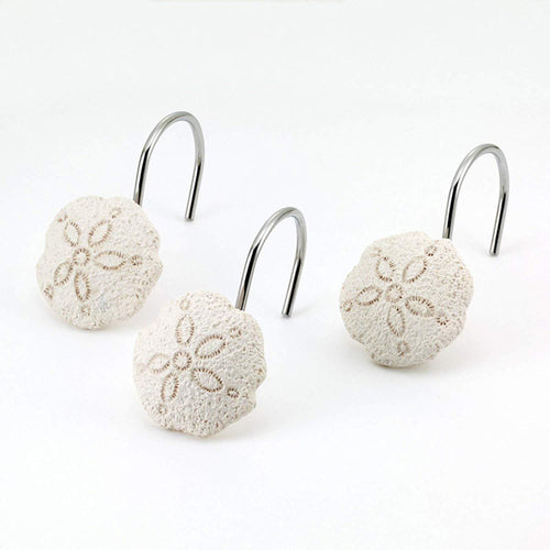 Avanti Linens Seaglass Shower Hooks