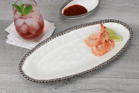 Pampa Bay Salerno Small Oval Serving Piece