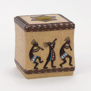Avanti Linens Kokopelli Tissue Box Cover