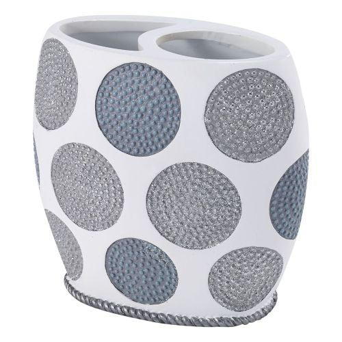 Avanti Linens Dotted Circles Toothbrush Holder