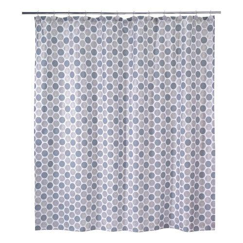 Avanti Linens Dotted Circles Shower Curtain