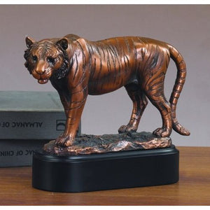 Treasure of Nature Tiger Statue - Bronze Finished Figurine