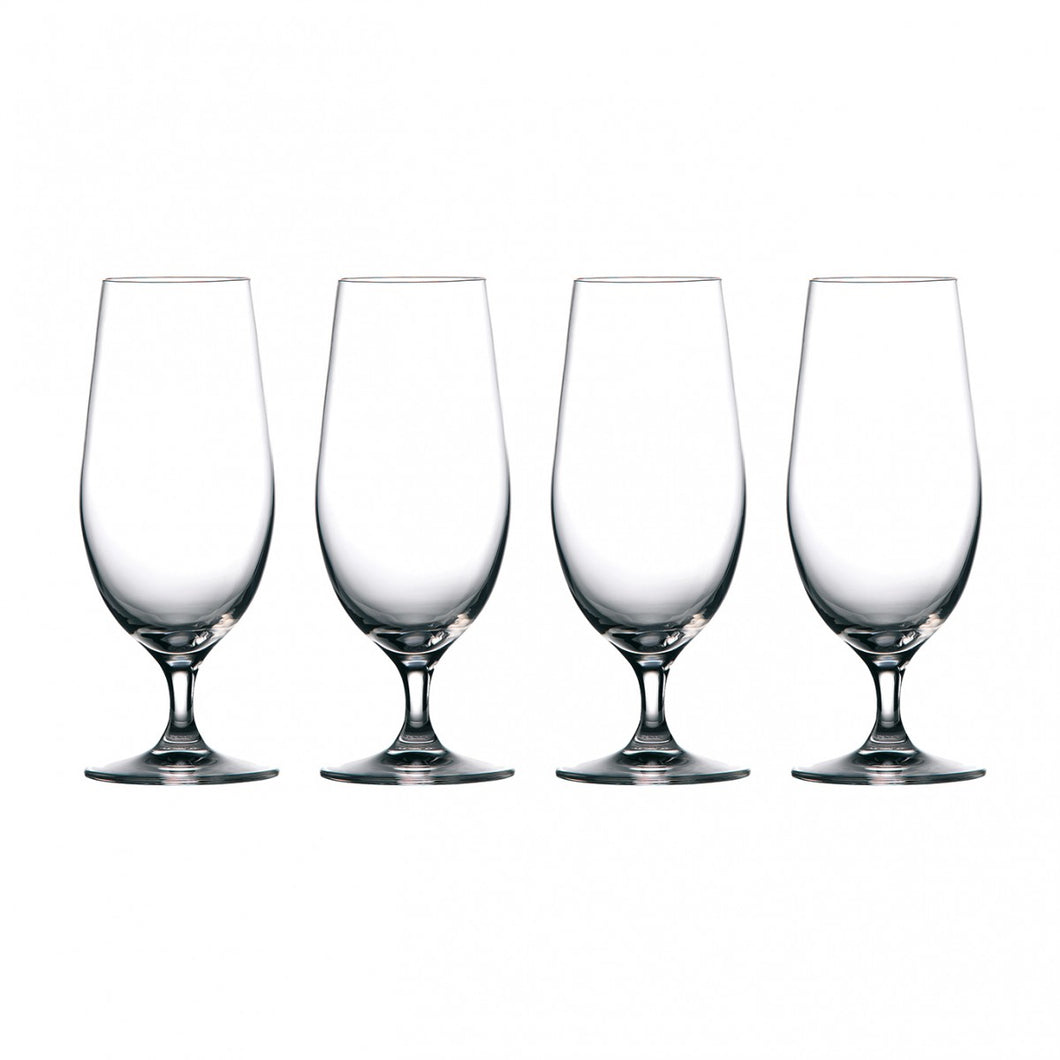 Waterford Marquis Moments Beer Glass 15.5 Oz Set of 4