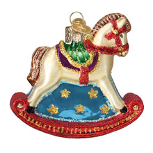 Load image into Gallery viewer, Old World Christmas Hanging Tree Ornament - Rocking Horse