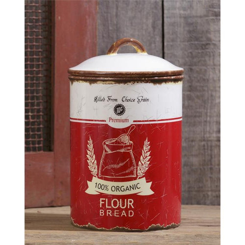 Your Heart's Delight Retro Ceramic - Flour Canister