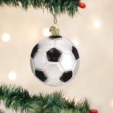 Load image into Gallery viewer, Old World Christmas Soccer Ball Ornament