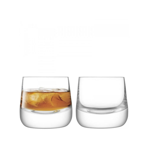 LSA International Bar Culture Set of 2 Whisky Glass 7.4 fl oz Clear