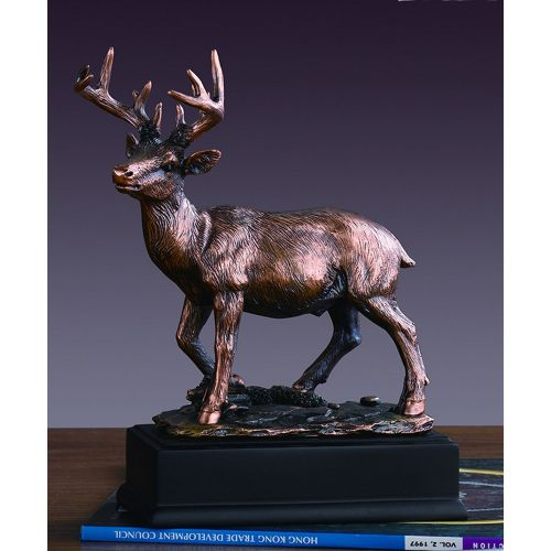 Treasure of Nature White Tail Deer Statue