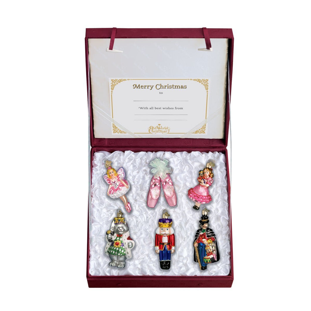 Old World Christmas Nutcracker Suite Collection Ornament Set