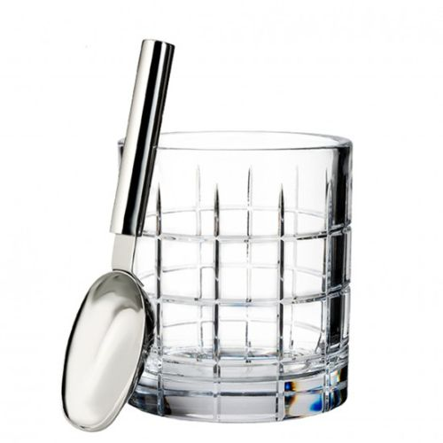 Waterford Cluin Ice Bucket 48 Oz With Scoop
