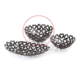 Leeber Black Round Basket