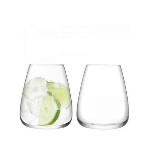 LSA International Wine Culture Water Glass Set Of 2