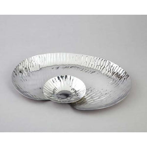 Leeber Stainless Steel Oval Serve And Dip Tray