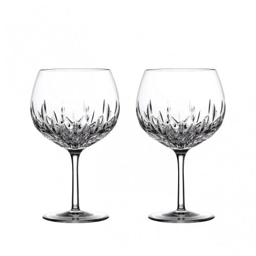 Waterford Crystal Gin Journeys Lismore Balloon Glass, Set of 2
