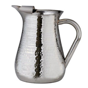 Leeber Stainless Steel Hammered Water Pitcher