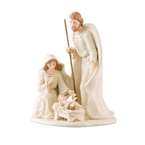 Belleek Nativity Family Small