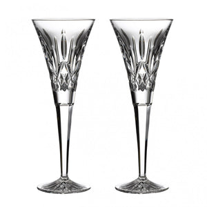 Waterford Crystal Lismore Toasting Flute Pair